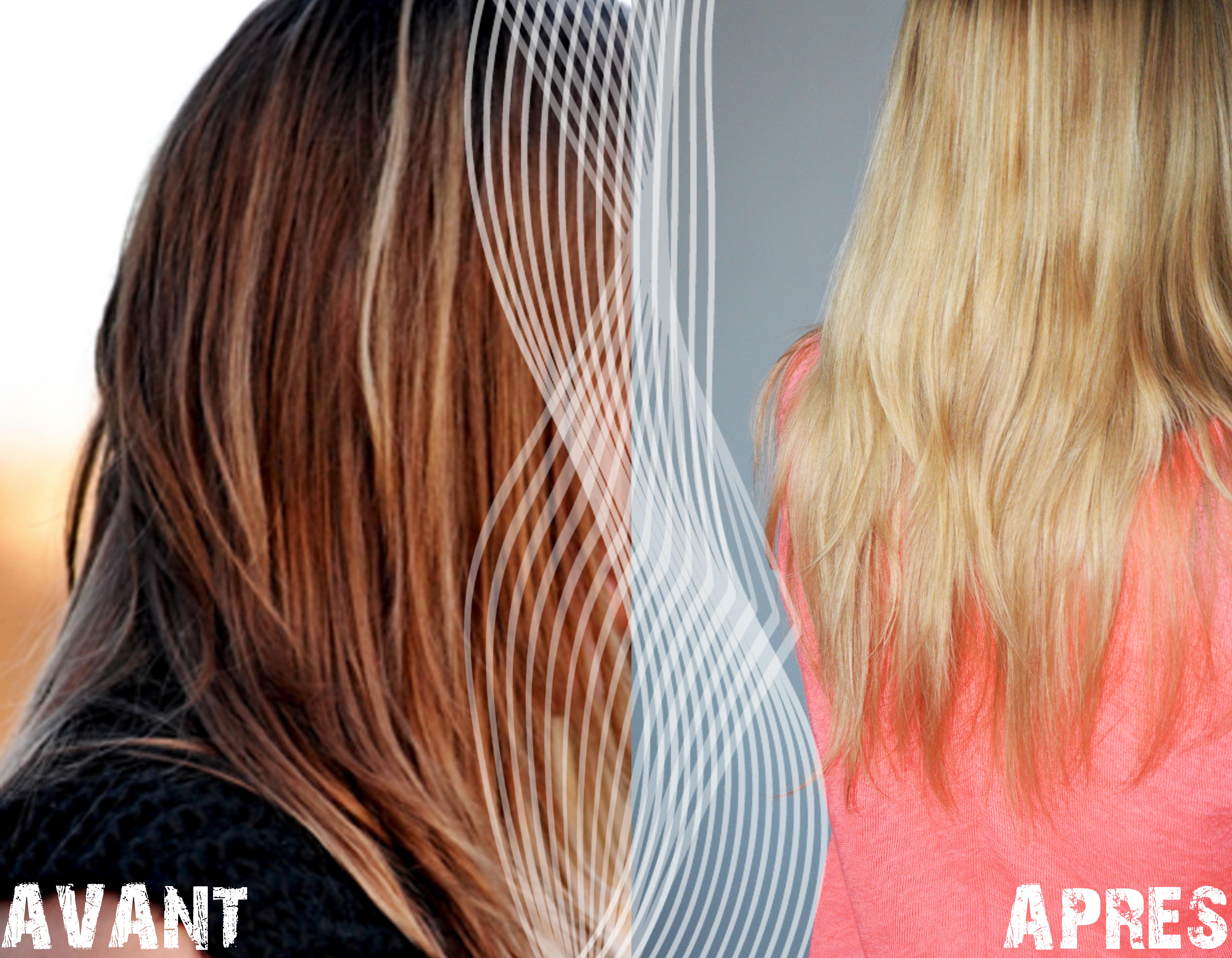 alittleb_blog_beaute_cheveux_garnier_dessange_resultat_avant_apres - Coloration Eclaircissante Blond