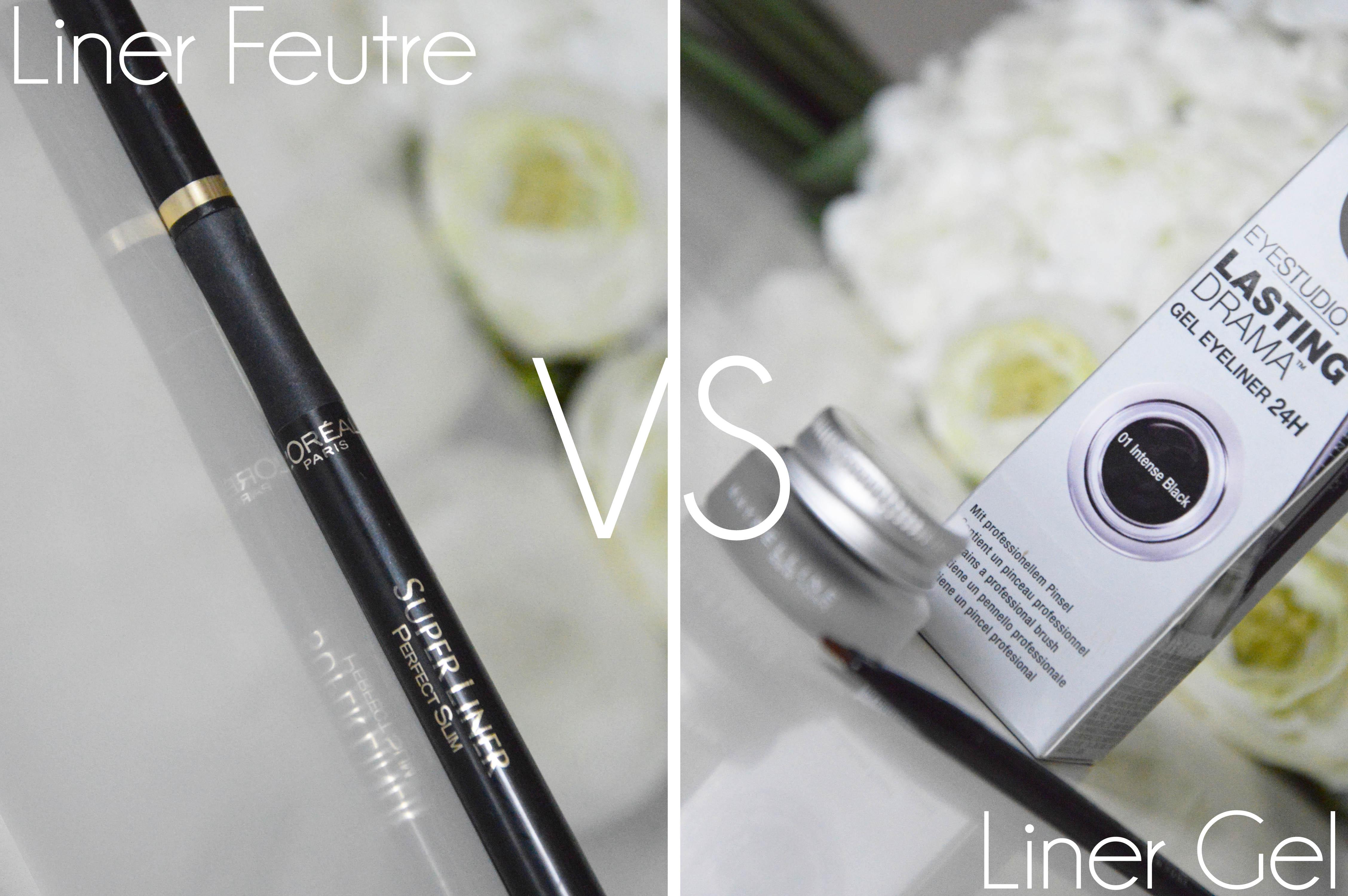 a little b blog beaut maman lyon gel liner vs eyeliner feutre who s the best. Black Bedroom Furniture Sets. Home Design Ideas