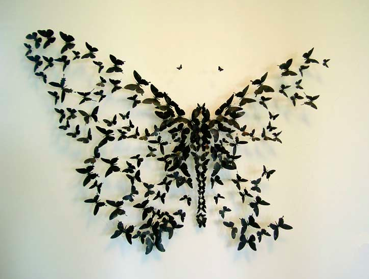 a little b blog beaut maman lyon diy deco butterfly project. Black Bedroom Furniture Sets. Home Design Ideas
