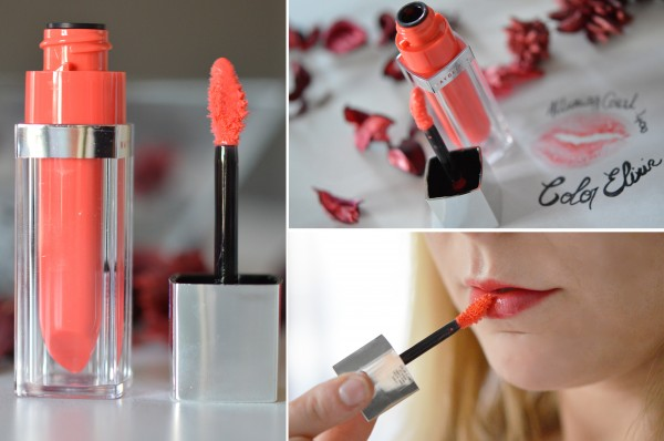 ALITTLEB_BLOG_BEAUTE_COLOR_ELIXIR_MAYBELLINE_LAQUE_ROUGE_A_LEVRES_GLOSS_QUI_ES_TU_ALLURING_CORAL_400_APPLICATION