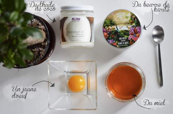 ALITTLEB_BLOG_BEAUTE_DIY_MASQUE_NOURRISSANT_HOME_MADE_POUR_CHEVEUX_DEPRESSIFS_INGREDIENTS