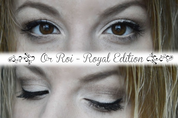 ALITTLEB_BLOG_BEAUTE_ROYAL_EDITION_NOEL_LIKE_A_PRINCESS_AVEC_RESERVE_NATURELLE_OR_ROI_OMBRE_A_PAUPIERE_SWATCH_MAKEUP