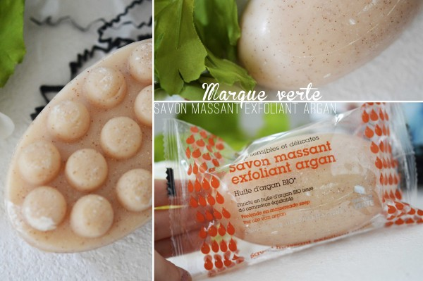 ALITTLEB_BLOG_BEAUTE_MY_SWEETIE_BOX_JUIN_2015_SOUND_OF_BEAUTY_A_LHEURE_DETE_MARQUE_VERTE_SAVON_MASSANT_EXFOLIANT_ARGAN