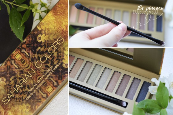 ALITTLEB_BLOG_BEAUTE_SAHARIAN_COLORS_CET_ETE_JE_SCINTILLE_PACKAGING_PALETTE_PINCEAU_DOUBLE_EMBOUT
