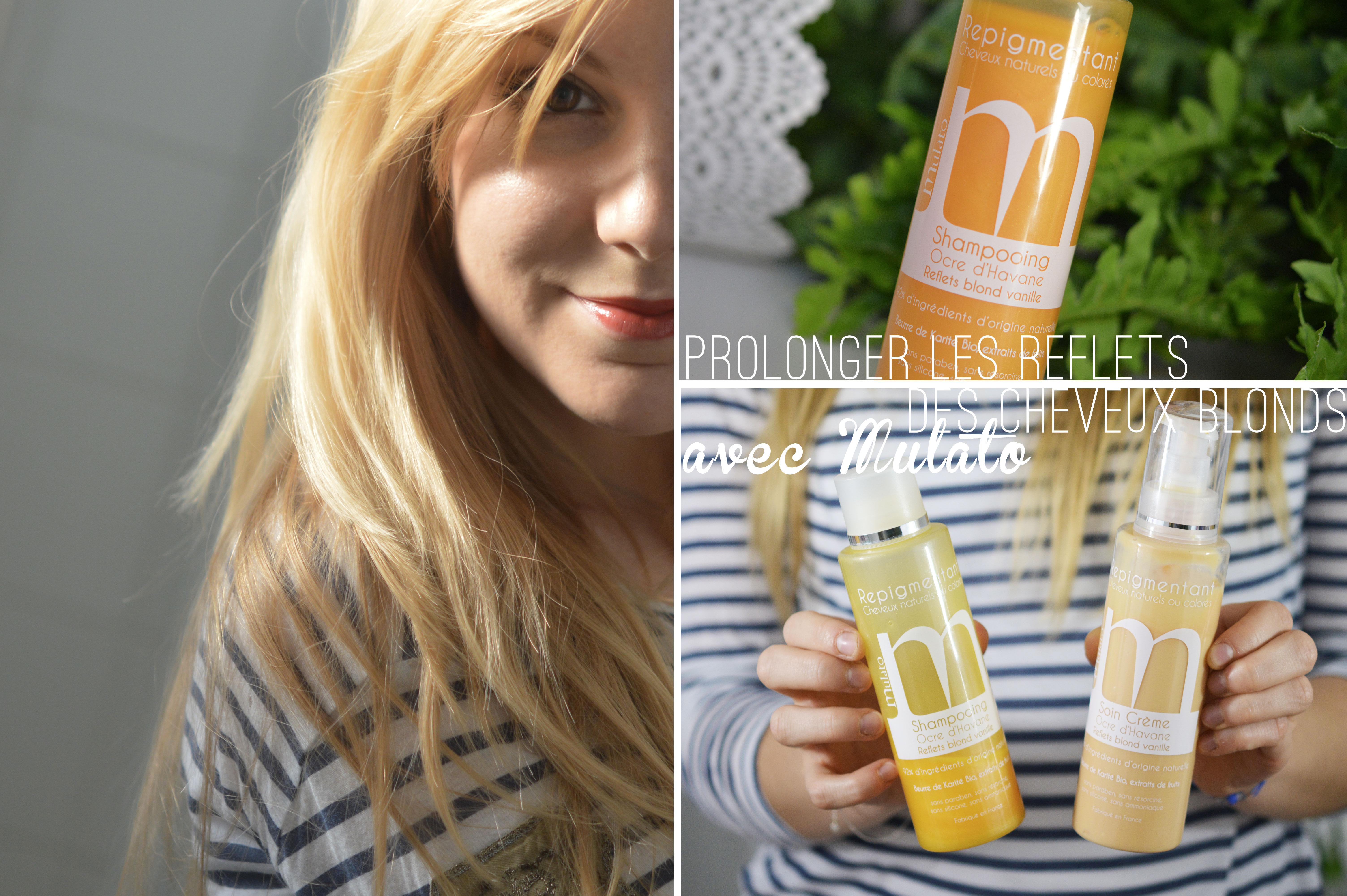 shampoing pour blonde décolorée