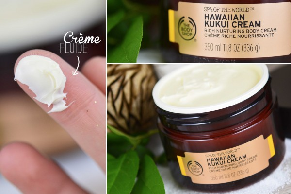 ALITTLEB_BLOG_BEAUTE_SPA_OF_THE_WORLD_LE_RITUEL_DETENTE_AVEC_THE_BODY_SHOP_CREME_HAWAIIAN_KUKUI_ZOOM_SWATCH