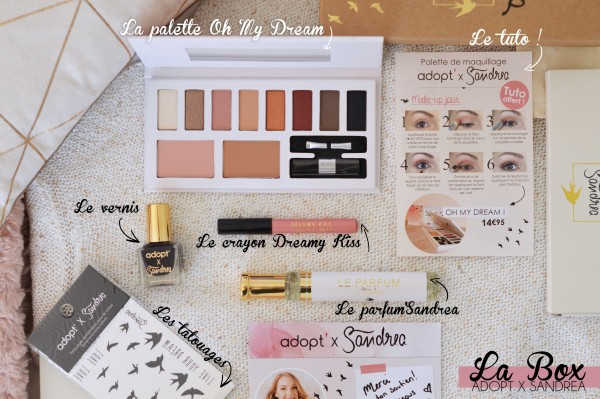 ALITTLEB_BLOG_BEAUTE_ADOPT_FEAT_SANDREA_UNE_PARENTHESE_DE_DOUCEUR_LE_LOOK_MAKEUP_TUTORIEL_BOX_CONTENU