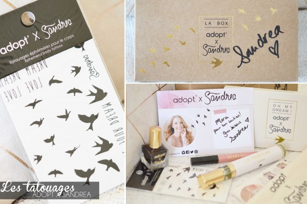 ALITTLEB_BLOG_BEAUTE_ADOPT_FEAT_SANDREA_UNE_PARENTHESE_DE_DOUCEUR_LE_LOOK_MAKEUP_TUTORIEL_ZOOM_TATOUAGES_EPHEMERES_BOX