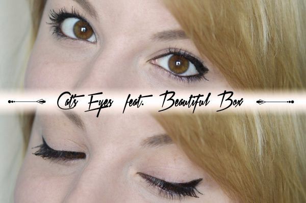 ALITTLEB_BLOG_BEAUTE_BEAUTIFUL_BOX_EDITION_AVRIL_ITS_RAINING_CATS_MAKEUP_CATS_EYES1