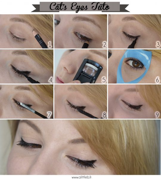 ALITTLEB_BLOG_BEAUTE_BEAUTIFUL_BOX_EDITION_AVRIL_ITS_RAINING_CATS_MAKEUP_CATS_EYES_TUTORIEL