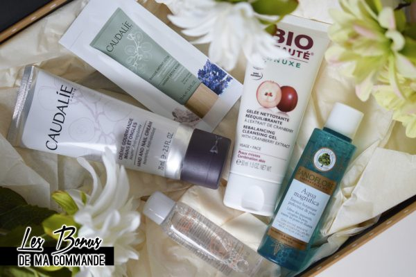 ALITTLEB_BLOG_BEAUTE_LYON_MA_ROUTINE_ANTI_IMPERFECTIONS_AVEC_PHARMASHOPPI_BONUS_CAUDALIE_SANOFLORE_AVENE_BIO_BEAUTE_BY_NUXE