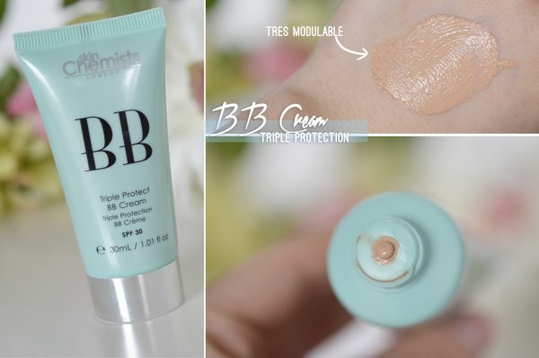 ALITTLEB_BLOG_BEAUTE_LYON_SKIN_CHEMISTS_MES_INDISPENSABLES_TEINT_TRIPLE_PROTECT_BB_CREAM_SWATCH