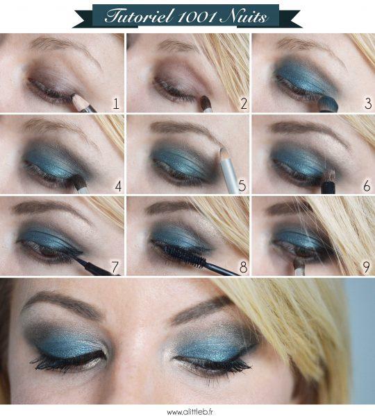 alittleb_blog_beaute_lyon_rdv_beaute_mille_et_une_nuits_makeup_2ans_de_beaute_total_look_tutoriel_pas_a_pas