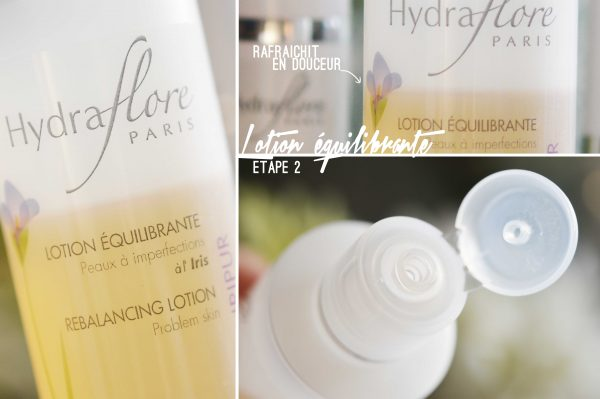 alittleb_blog_beaute_lyon_cocreatrices_iripur_hydraflore_peux_mixtes_a_grasses_test_routine_lotion_equilibrante