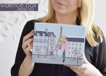 évidence box beauté blog