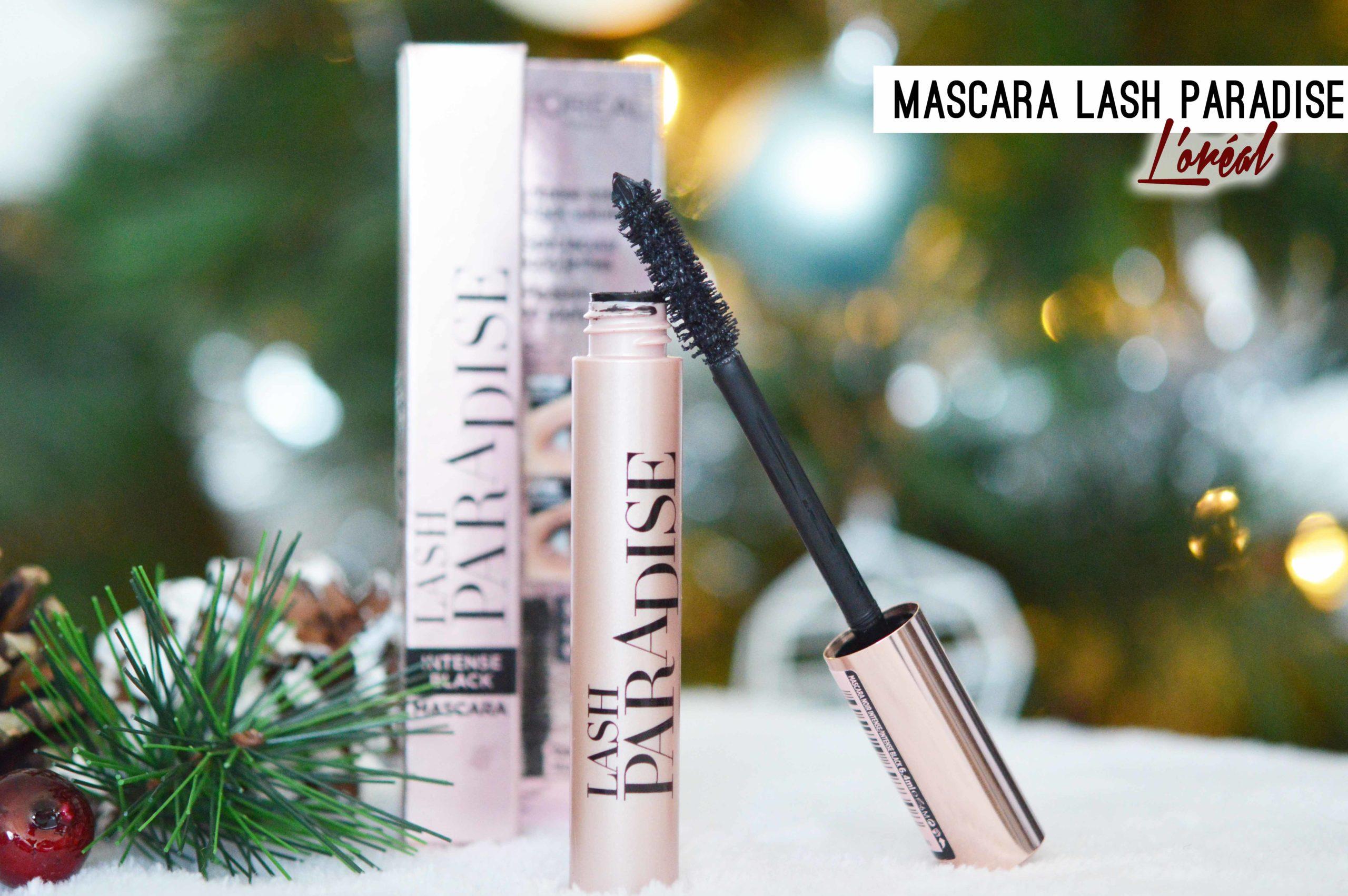 Lash Paradise de L'oréal, le mascara allongeant et volumateur
