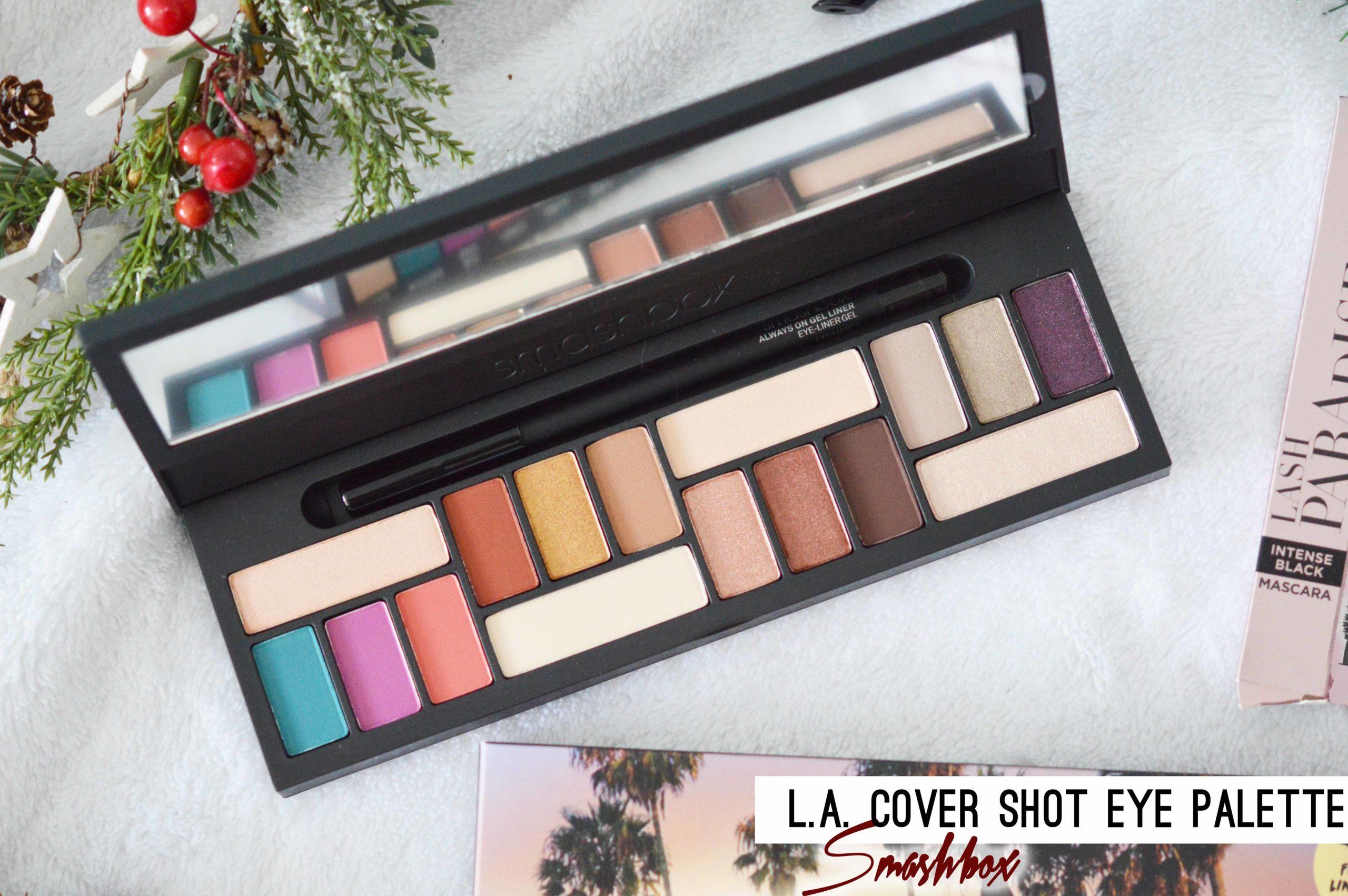 L.A Color Shot la palette pour les yeux de smashbox