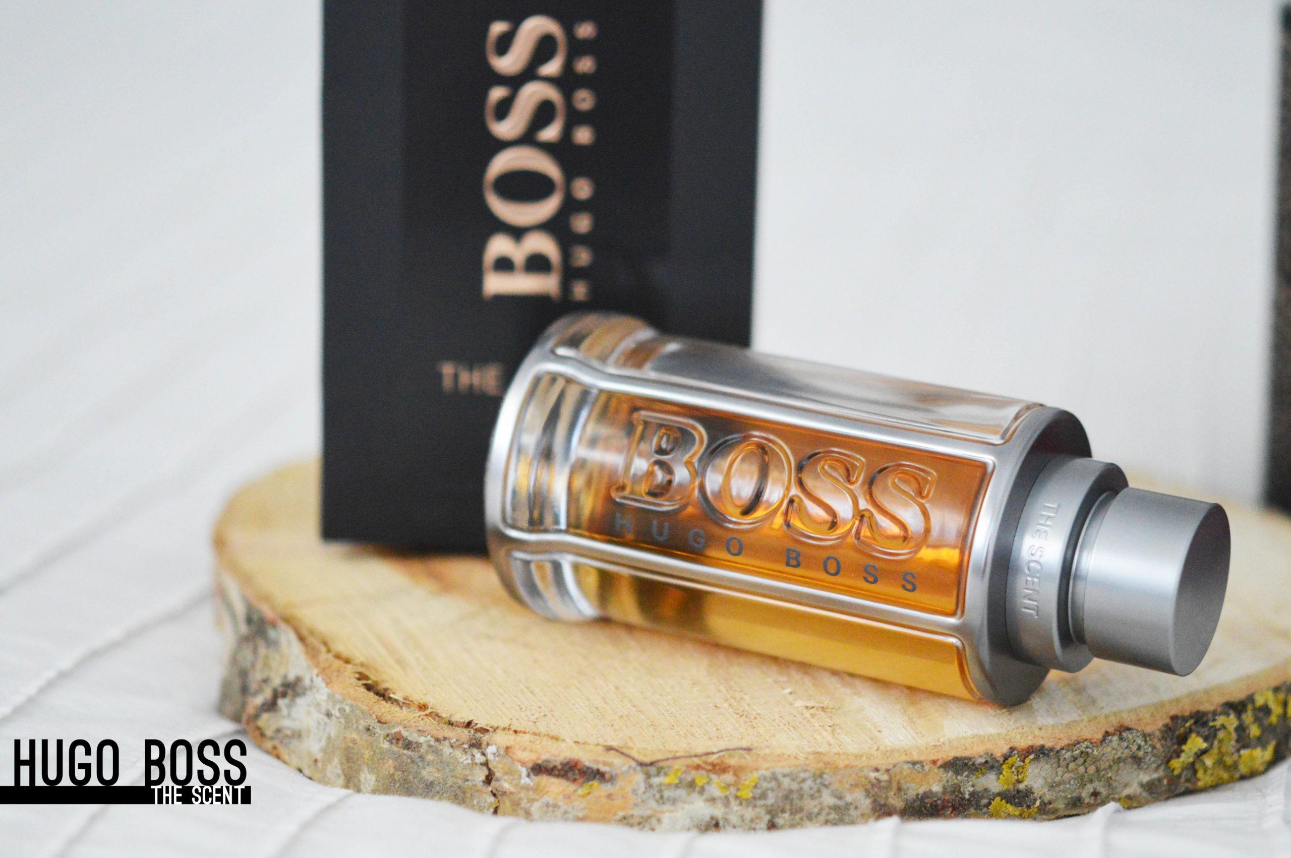 The Scent d'Hugo Boss, un flacon résolument masculin