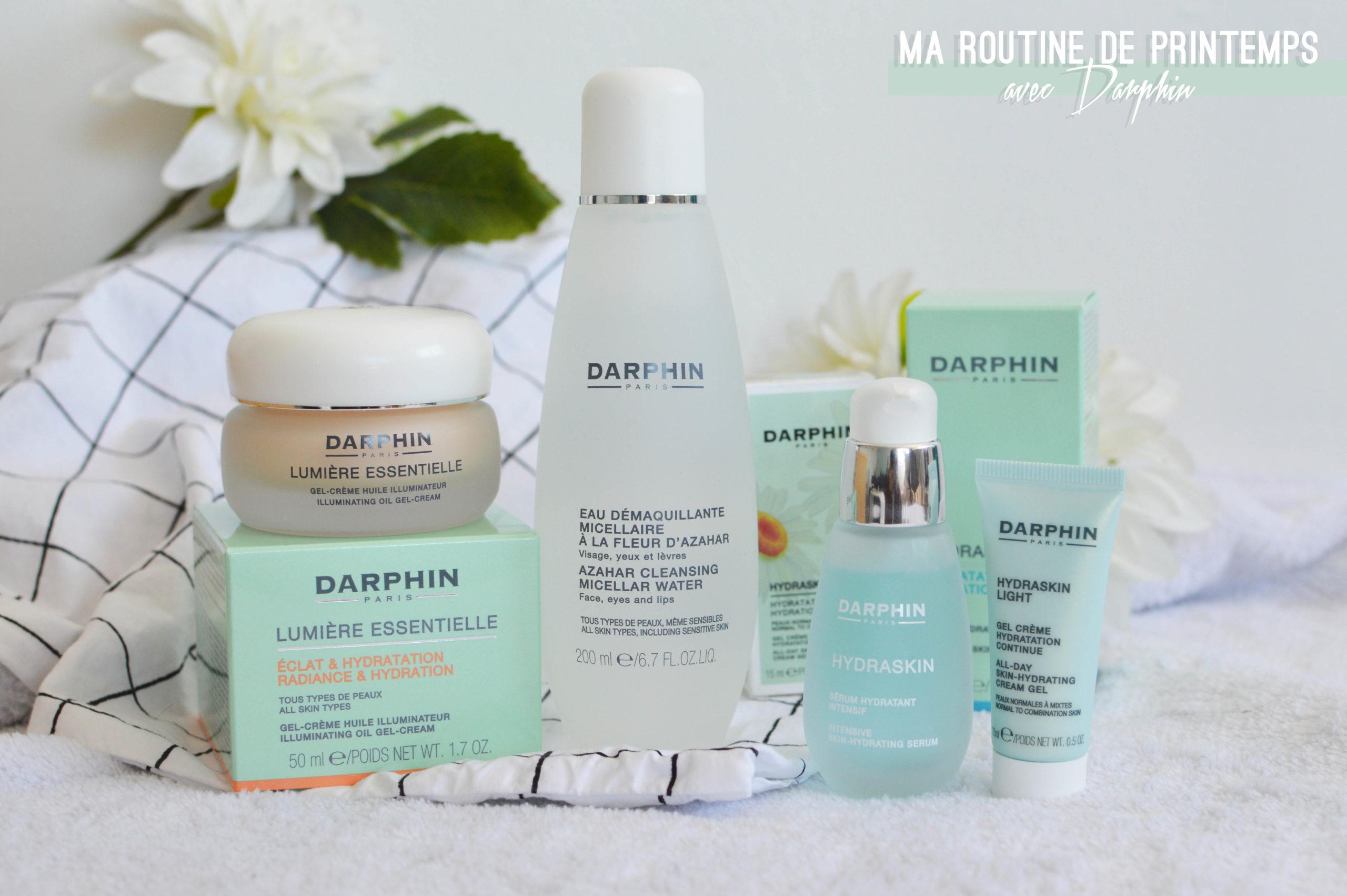 ma routine de printemps avec Darphin