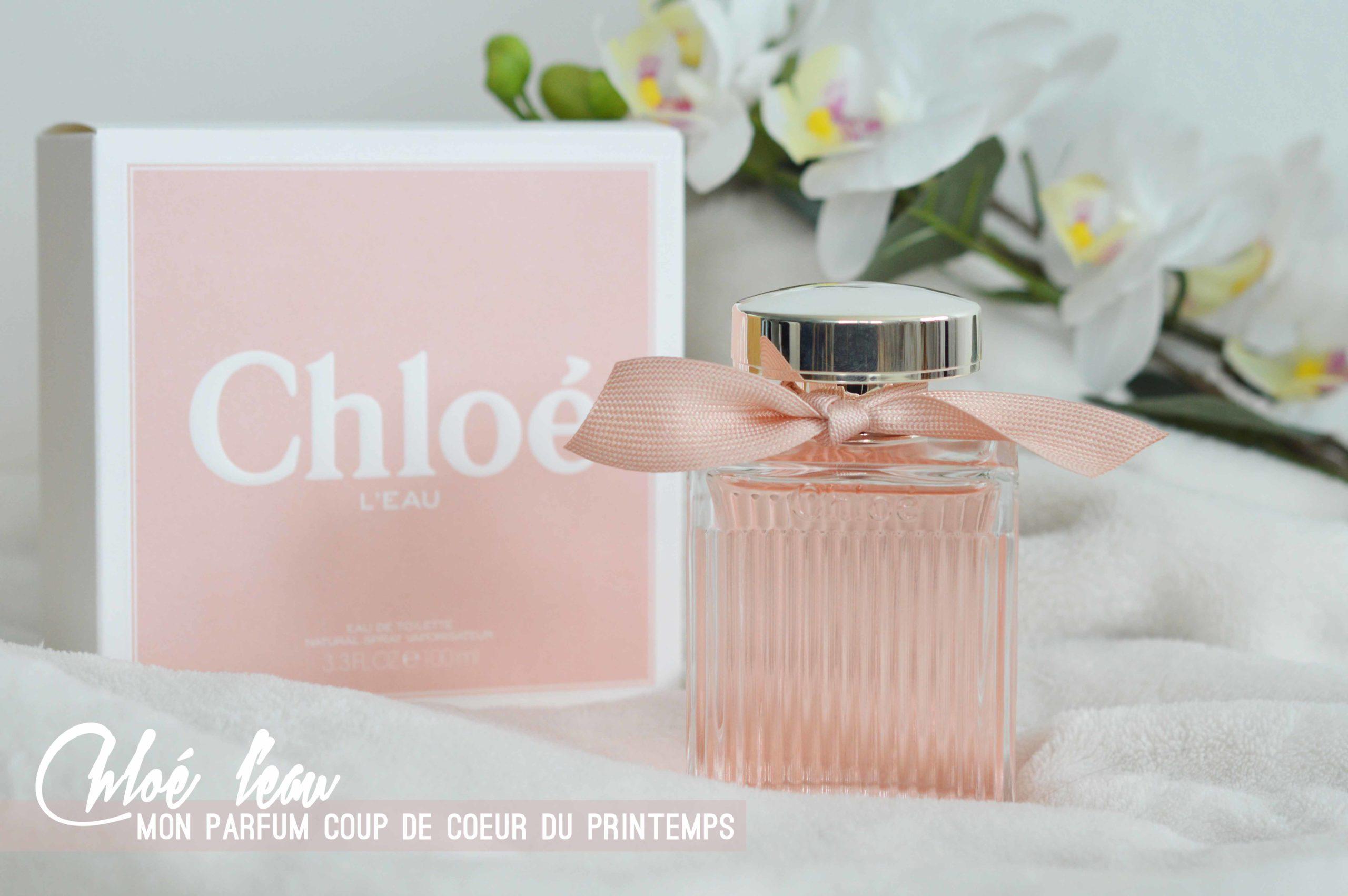 L'eau de Chloé sur Notino, mon parfum du printemps