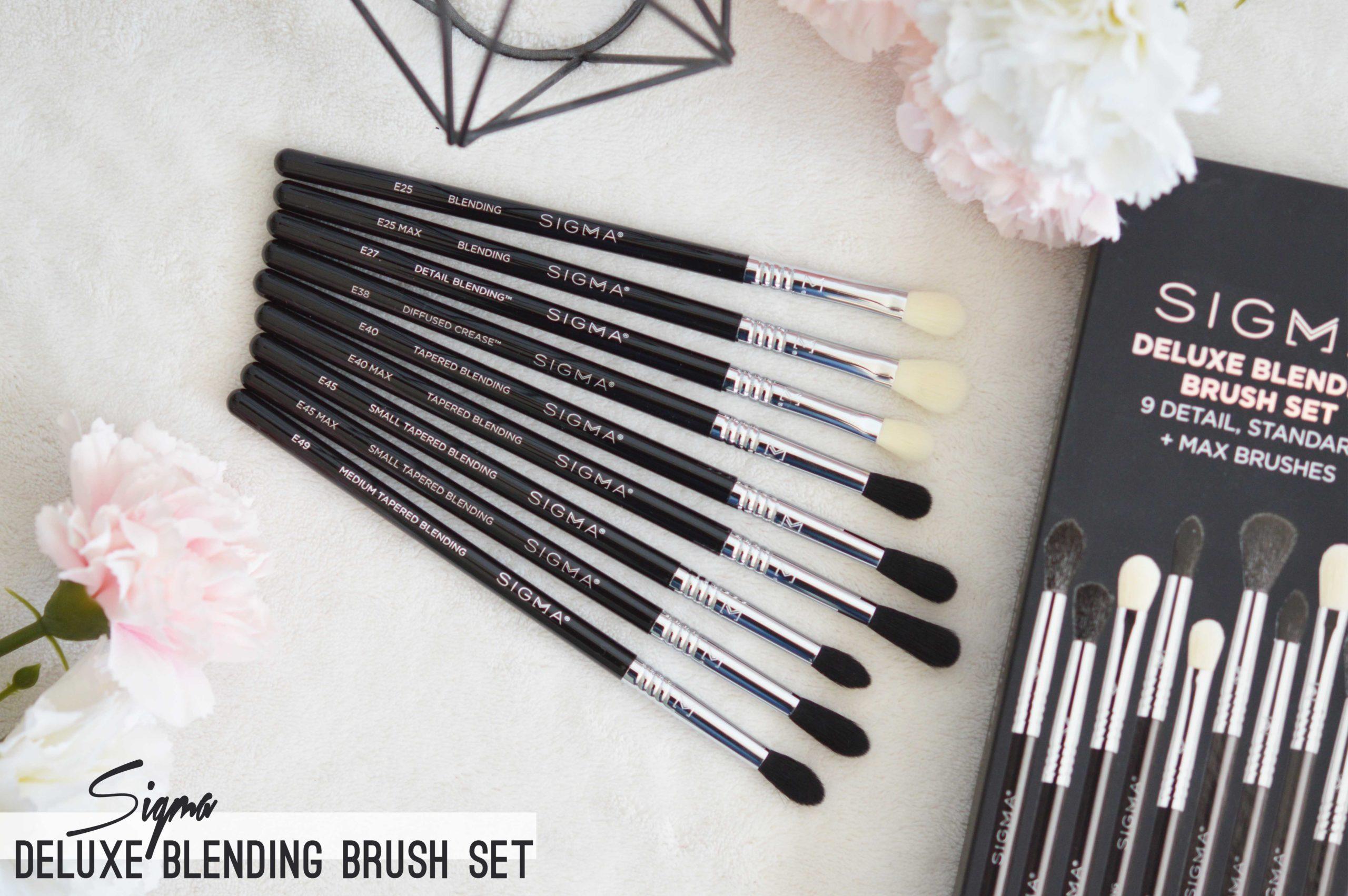 Que valent les pinceaux sigma? focus sur le deluxe blending brush set