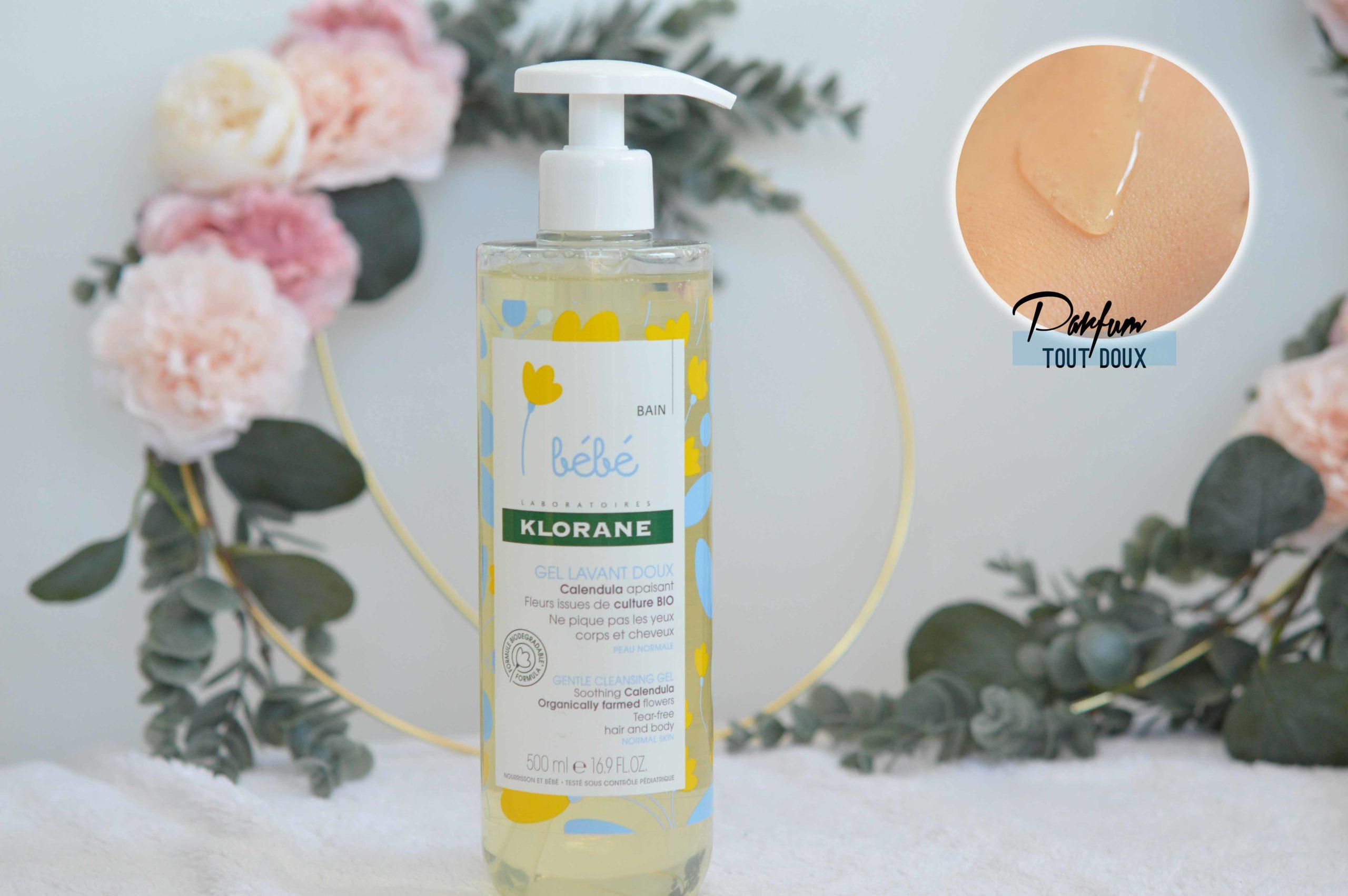 le gel douche klorane parfait pour les peaux réactives